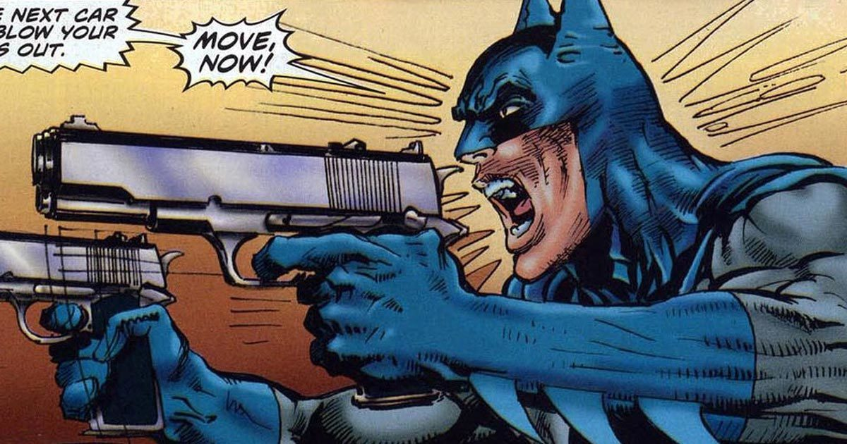The 6 Most Insane Batman Scenes Ever Written | Cracked com