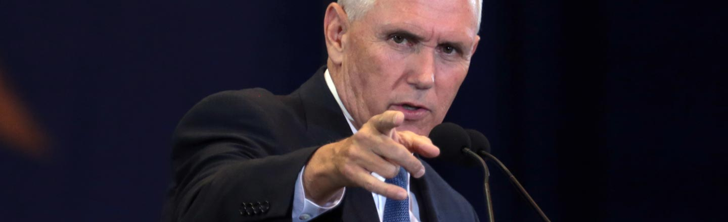 6 Totally WTF Mike Pence Stories Nobody Ever Brings Up
