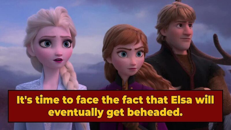 The Cast of 'Frozen' Were Probably Executed In A Revolution