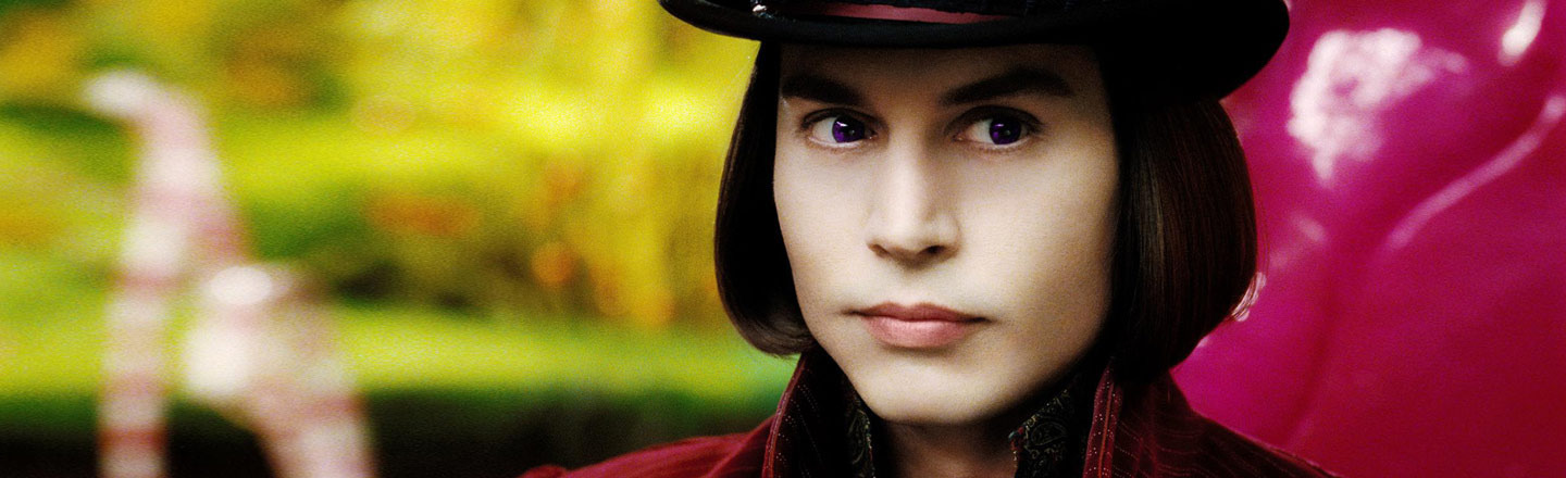 6 Reasons Burton's Willy Wonka Is Actually A Serial Killer