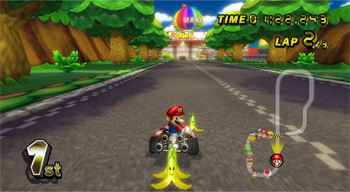 Aside from you, during <i>Mario Kart</i>.