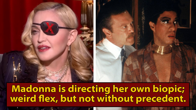 Madonna's Biopic Will Take The Insane Richard Pryor Approach