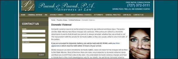 The 5 Creepiest Defense Attorney Websites