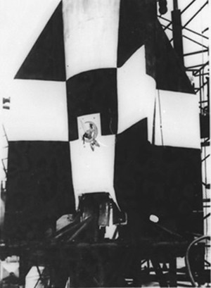 4 Famous Historical Figures (Who Were Doin' It Nonstop) - a naked woman on a V2 rocket