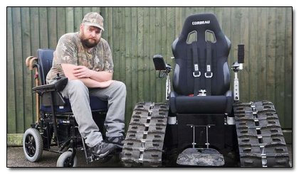 The 5 Most Incredible Stories of Pimped Out Wheelchairs