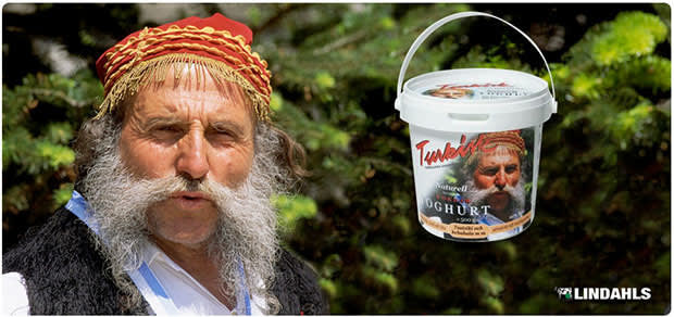 Eat that yogurt, and the last thing you'll ever see is more glorious facial hair swarming you like Africanized bees!