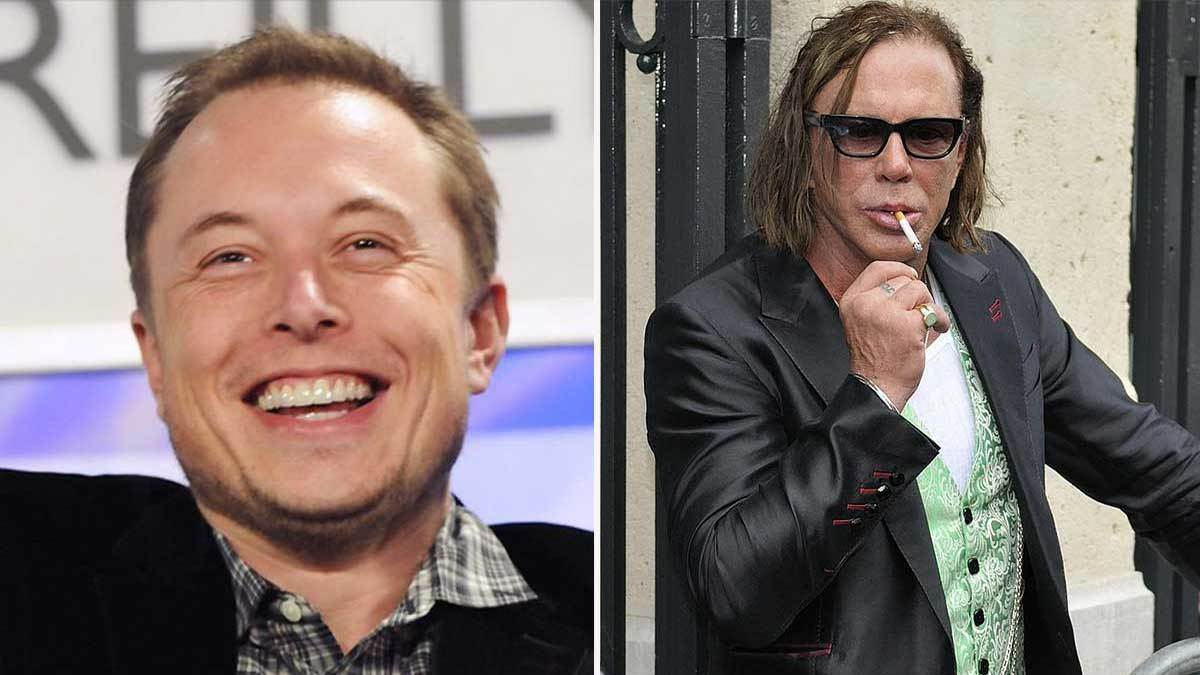 Mickey Rourke Wants To Fight Elon Musk (For Johnny Depp's Honor ...