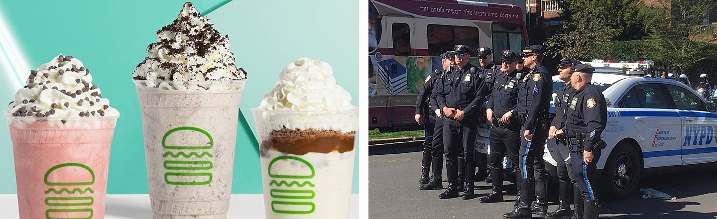 NYPD Gets Weird Poops, Claims Shake Shack 'Poisoned' Them