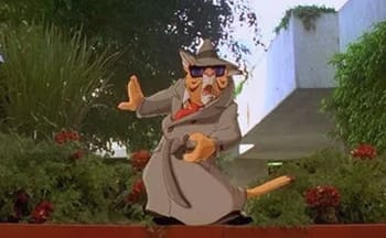 We simply refuse to criticize a big-budget action movie that still manages to squeeze in Danny DeVito as a cartoon cat.