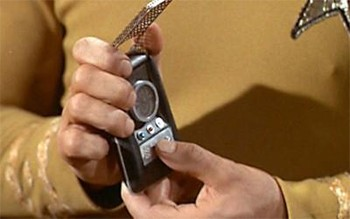 Unknown Creators Of Beloved Pop Culture - a Star Trek communicator designed by Wah Ming Chang