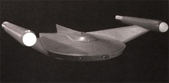 Unknown Creators Of Beloved Pop Culture - a Star Trek Romulan Bird of Prey designed by Wah Ming Chang