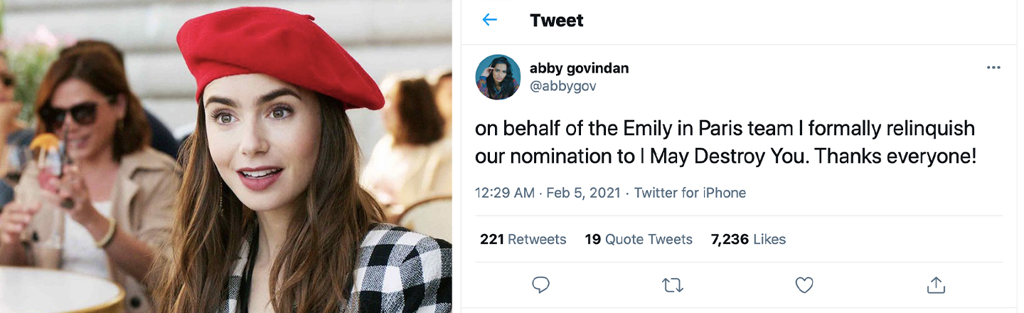 Comedian Claims To Be 'Emily In Paris' Creator on Twitter, Fools Half The Platform