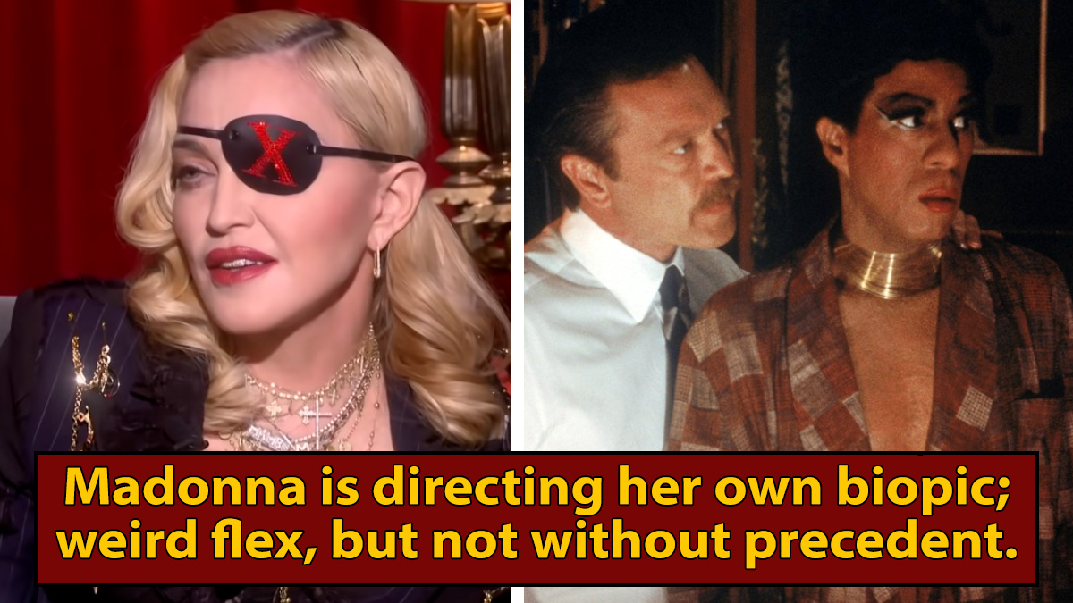 Madonna's Biopic Will Take The Insane Richard Pryor Approach