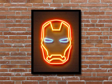 Choose A Side In The Infinity War With This Marvel Wall Art