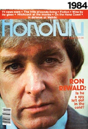He was on the cover of <i>Honolulu Magazine</i>! So was everyone else in Honolulu, but still.