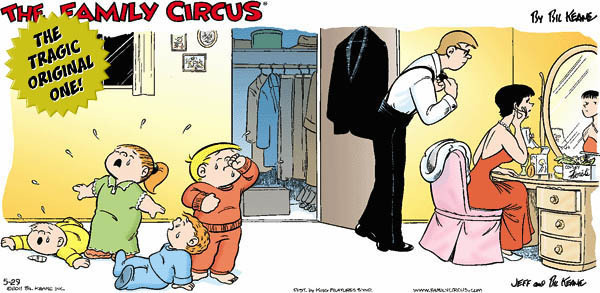 6 Family Circus Cartoons Improved with Offensive Jokes