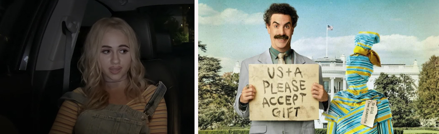 The Search For Borat's Daughter In 'Borat Subsequent Moviefilm' Was Weirdly Intense