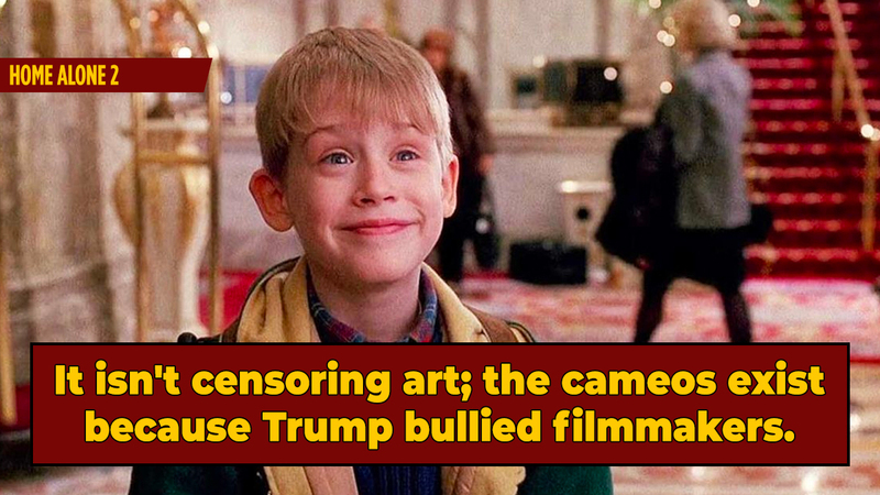 Good Idea: Remove Every Trump Cameo