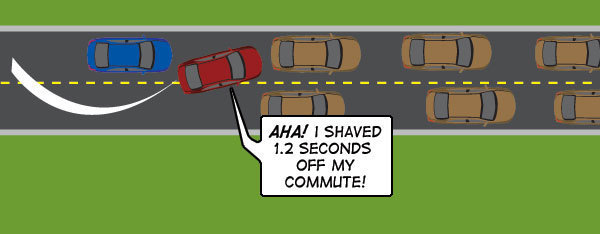 9 Bad Drivers Nobody Complains About