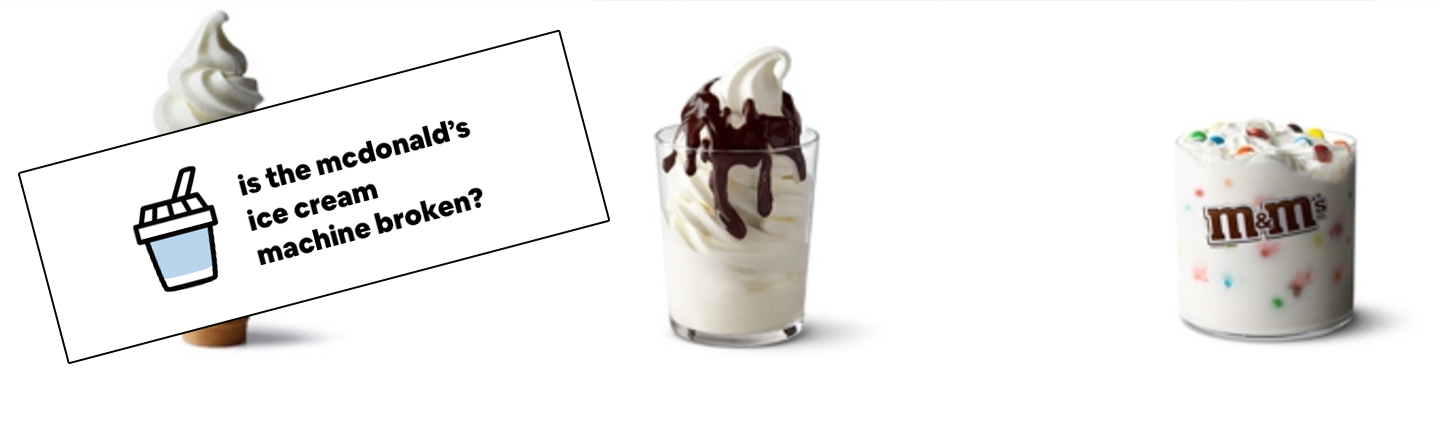 New 'McBroken' Tool Pinpoints Which McDonald's Have Functioning Ice Cream Machines