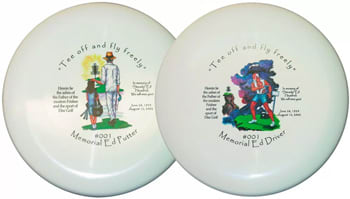 Oh, they're for <a href=https://www.discgolf.com/disc-golf-discs/steady-ed-memorial-discs/ target=_blank>sale</a> too, if you like playing with corpses.