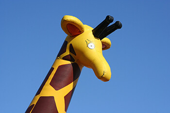 8 Rock Star Tour Requests That Are A Recipe For Madness An Inflatable giraffe