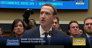 5 Rich People Who Prove Wealth Makes You Weird - Mark Zuckerberg testifying before Congress
