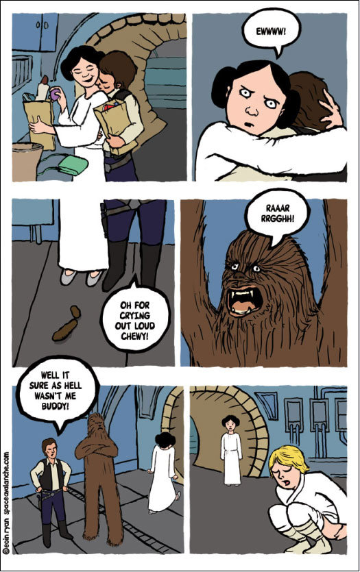 Bad Chewbacca? [COMIC]