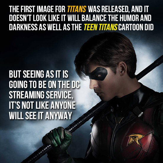 Teen Titans Looks Sad & Broody (But We're Still Here For It)