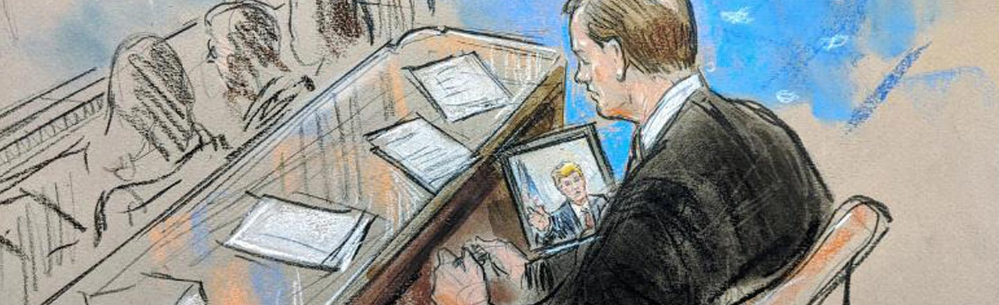 Dumb Courtroom Sketches: The Impeachment Coverage We Deserve
