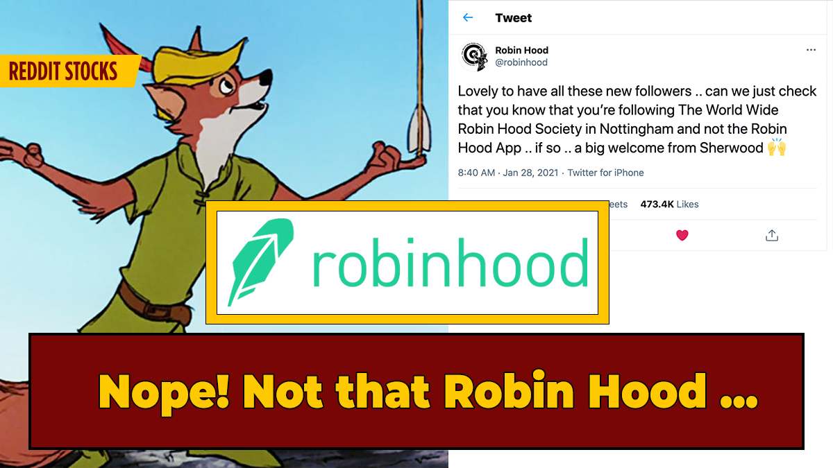 Groups Named 'Robin Hood' Face Confused Investors, Mass Twitter ...