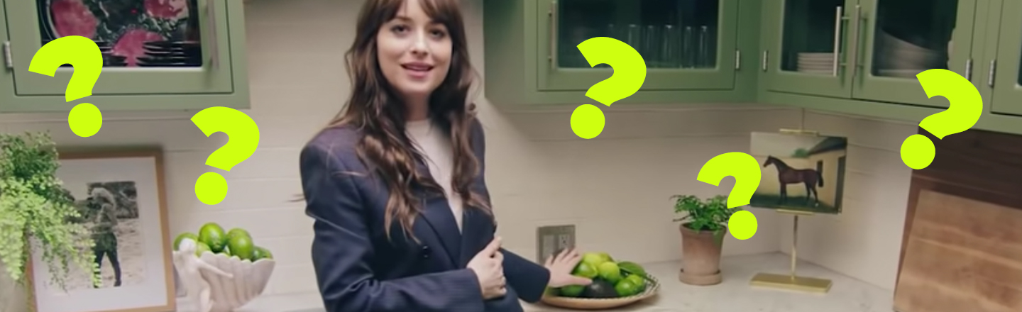 Dakota Johnson Lied To The Entire Internet About Her Viral Zest For Limes
