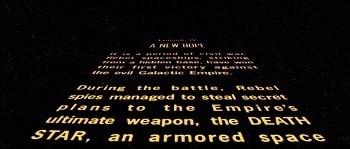 Use the flash, Luke. - Obi-Wan in early drafts