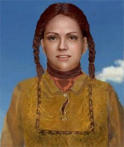 5 Unsolved Crimes Too Creepy For Hollywood artist rendering of the Buckskin Girl