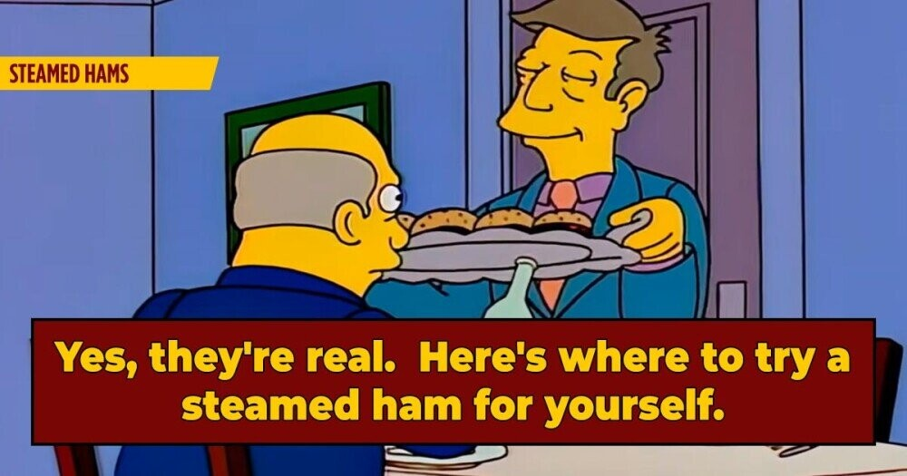 The Real Story Of 'Simpsons' Steamed Hams