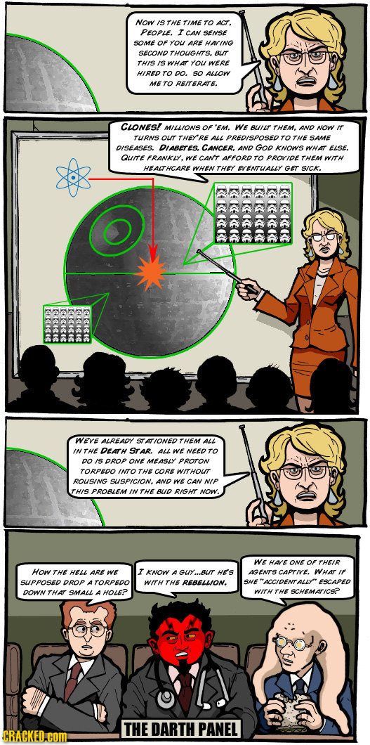 Darth Panel: How The Empire Reformed Health Care [COMIC]
