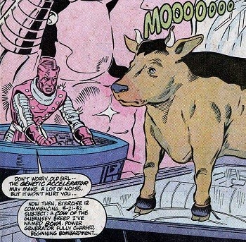 5 Real-But-Bananas Plots You Won't See On Wandavision Bova the Cow with High Evolutionary