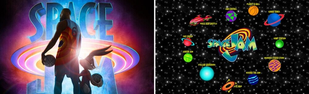 Heresy! The Ancient 'Space Jam' Site Has Been Defiled