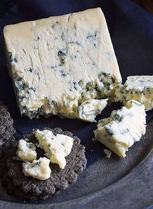 What do you mean 'Dye it?' If Stilton didn't look like a bar of soap full of dead ants, who would want to eat it?