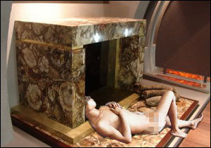 Happy Post-Thanksgiving! Why I'm Sleeping Naked In Your Fireplace