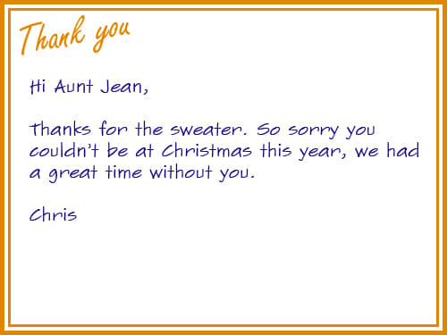 The 13 Greatest Thank You Cards Ever