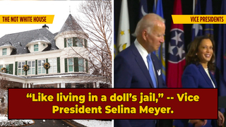 The Haunted Sea Mansion That's The Vice President's Home: A Tour