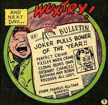 8 Famous Superhero Memes That Are Even Dumber In Context Joker complaining about Batman making him pull a boner