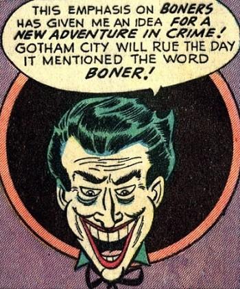 8 Famous Superhero Memes That Are Even Dumber In Context Joker plotting boner crimes