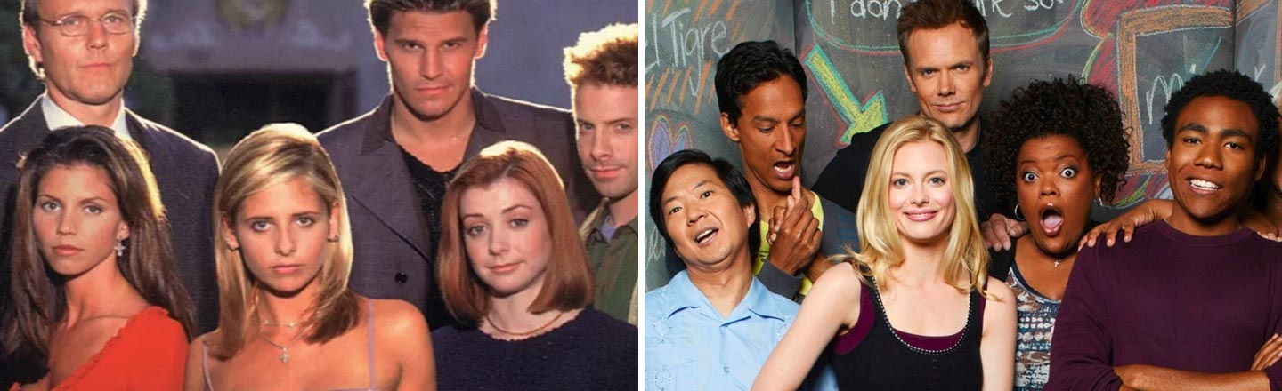 The Link Between 'Community' and 'Buffy The Vampire Slayer' That Went Unnoticed