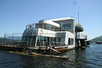 There Is A Rotting McDonald's Barge In Canada (And It's Humanity's Greatest Artifact)