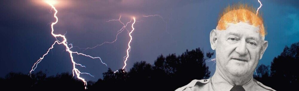 The Guy Who Said He Got Struck By Lightning 7 Times (VIDEO)