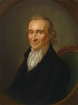 5 Hollywood-Worthy Twists That Saved People's Lives - portrait of American revolutionary Thomas Paine