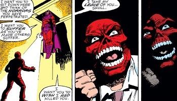 8 Famous Superhero Memes That Are Even Dumber In Context  Magneto burying Red Skull underground in revenge