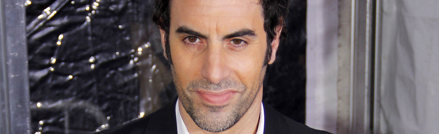 Sacha Baron Cohen's Newest Prank Is Totally Toothless